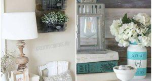 30 csináld magad (DIY) parasztház dekoráció ötletek a hálószobába