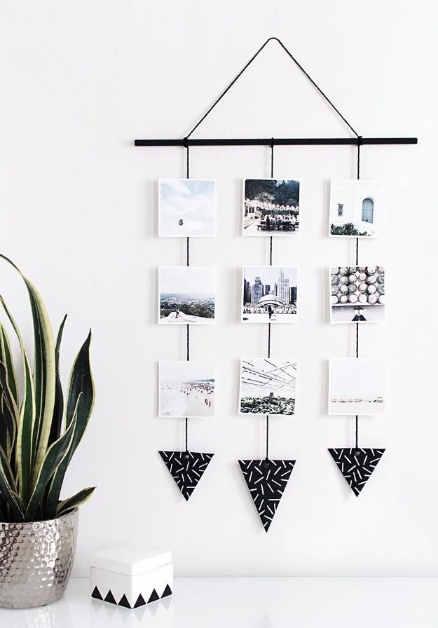 Falra akasztható dekoráció képekből