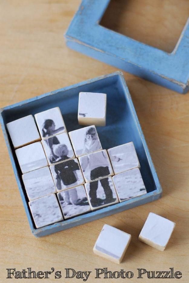 Fotós puzzle ajándéknak