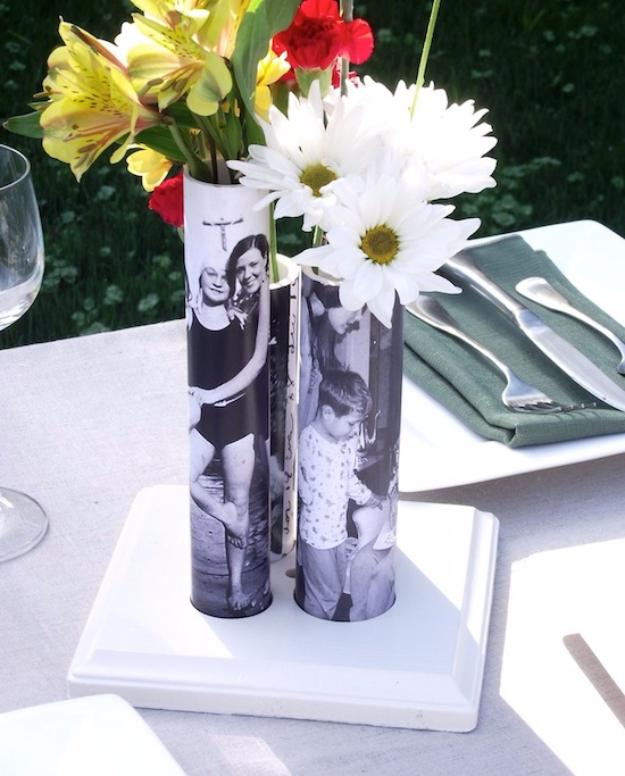 Fotós vázák PVC csőből