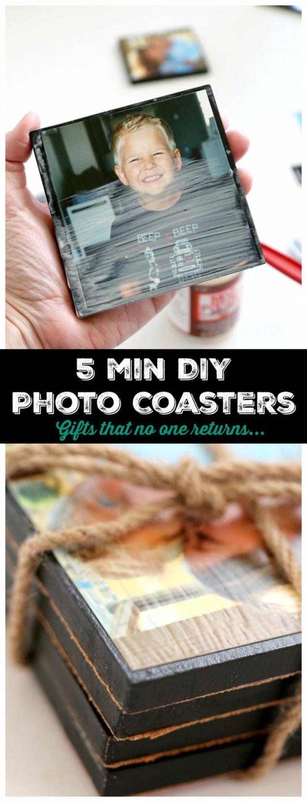 Készíts 5 perc alatt poháralátétet képekből