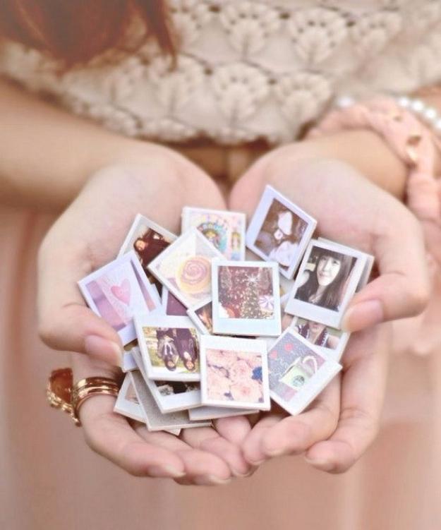 Mini fotós hűtőmágnesek