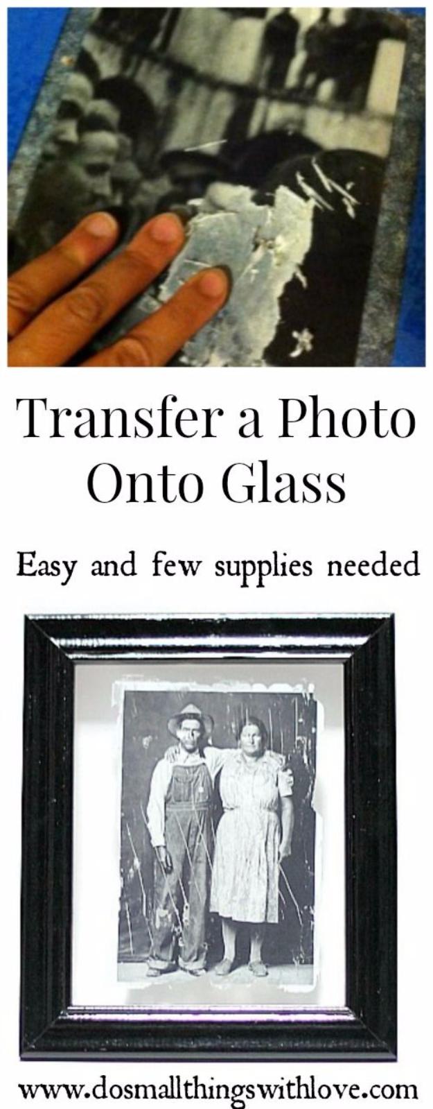 Saját fotó dekupázsozása üveglapra
