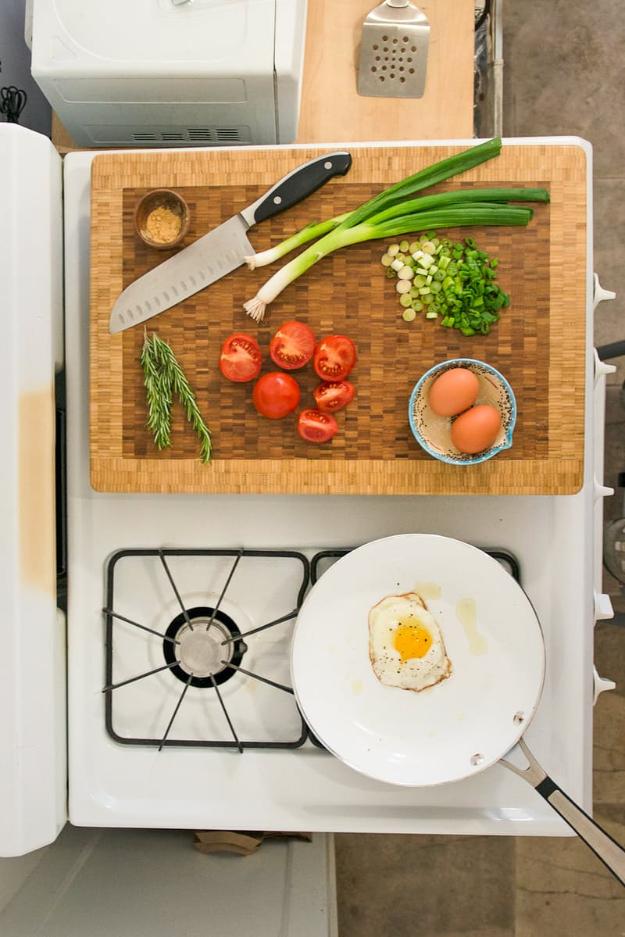 Tér megosztás szűkös konyhában
