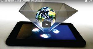 """Hogyan hozz létre egy """"3D Hologramot"""" az okos telefonoddal és egy régi CD tokkal! post"""