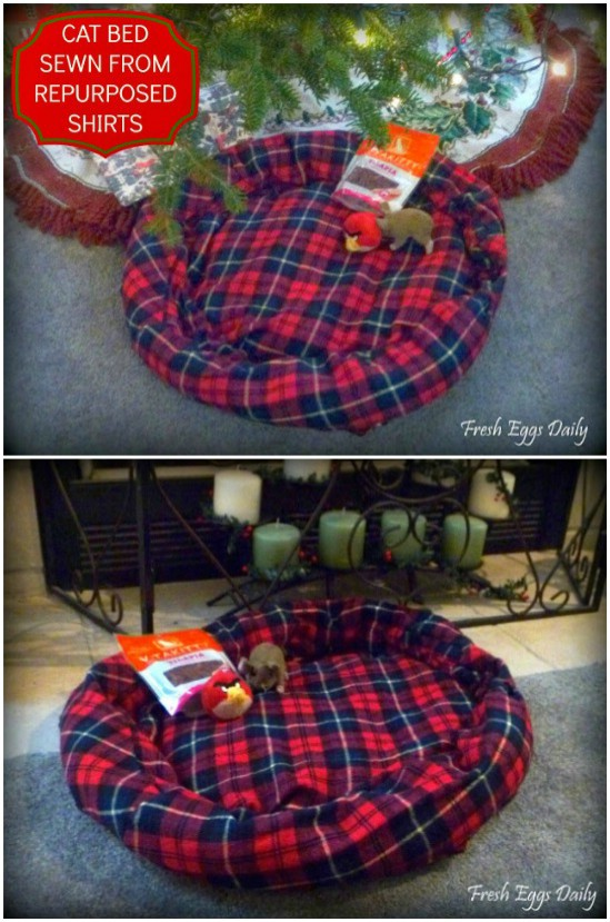 Könnyű Csináld magad (DIY) flanel kisállat ágy