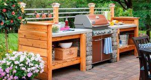 Build Your Own Outdoor Kitchen # 10 Outdoor Kitchen Plans-Turn Your Backyard Into Entertainment design - sicadinc.com - Home Design Ideas