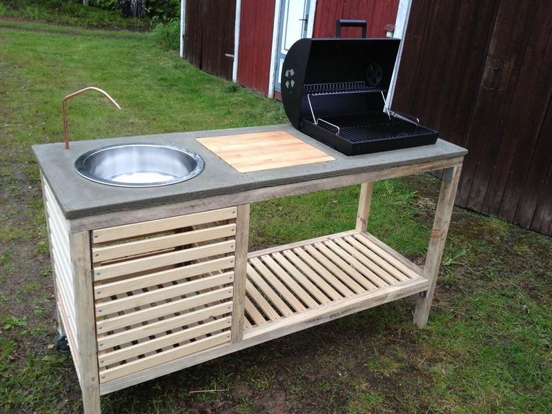 csináld magad kerti grill konyha 2