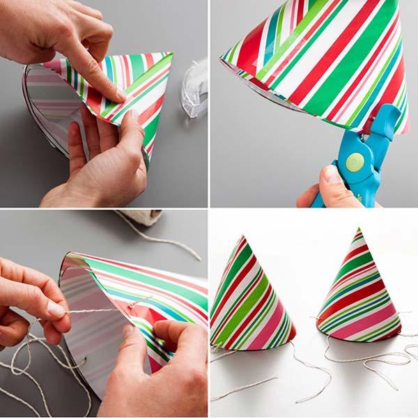 1.Ez a kézzel készített papír csákó, tökéletesen megfelel akár egy buliba is