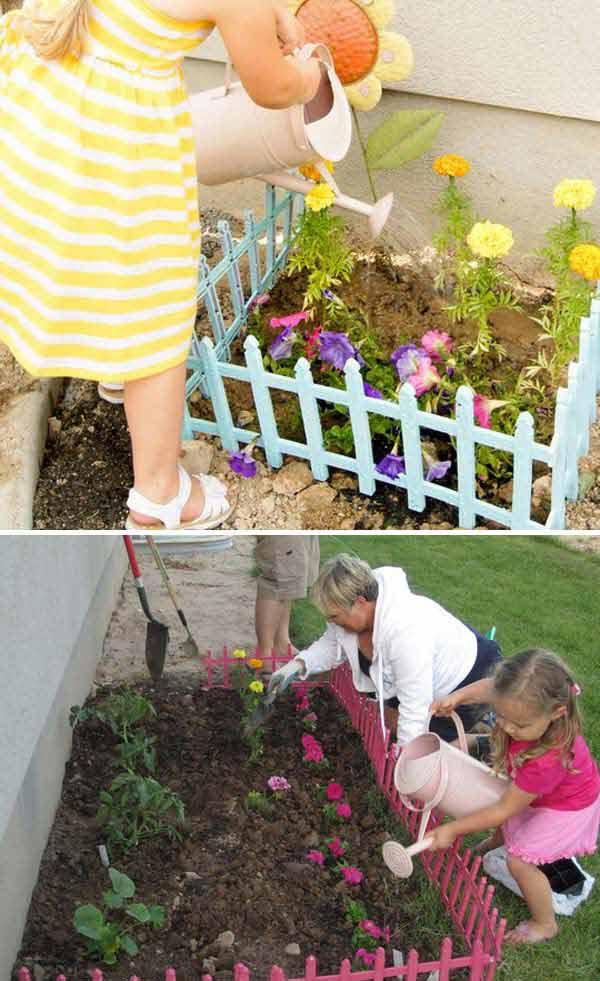 Csináljunk a gyerkőcöknek egy saját kis kertecskét