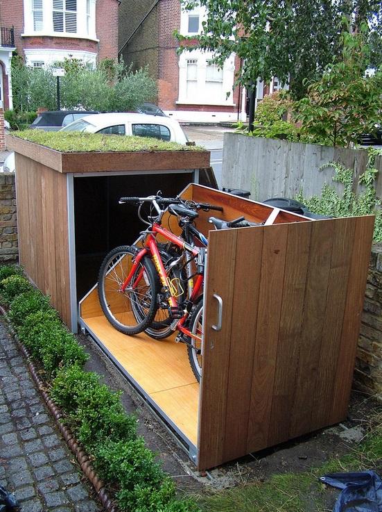 Hogyan építsünk praktikus kerékpár tárolót-3