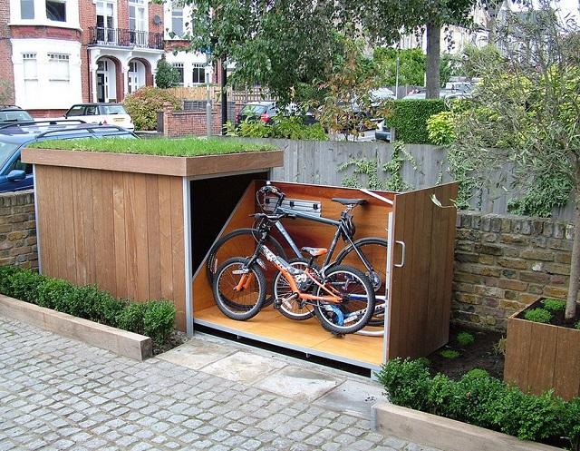 Hogyan építsünk praktikus kerékpár tárolót-8