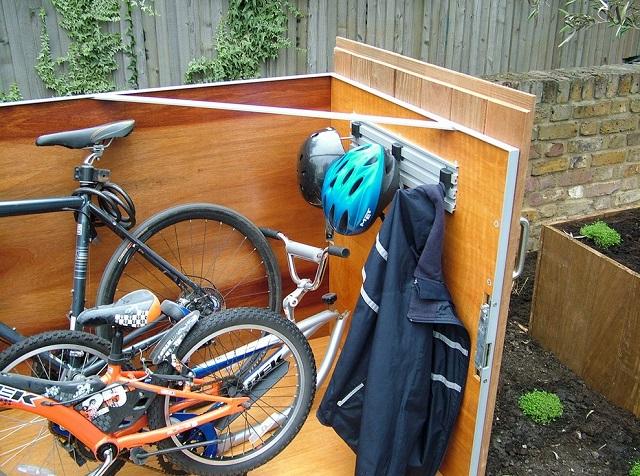 Hogyan építsünk praktikus kerékpár tárolót-9