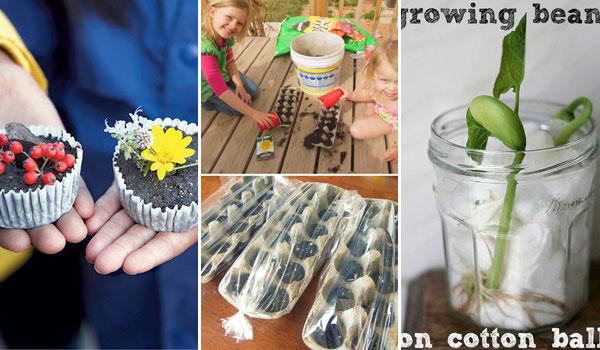 Mókás tavaszi kerti ötletek gyerekeknek