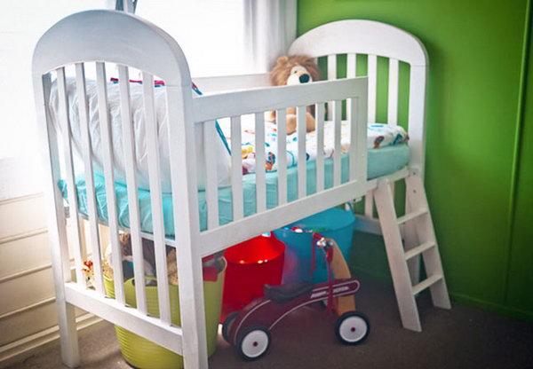 Varázsoljuk át a babaágyat kisgyermek ágyra