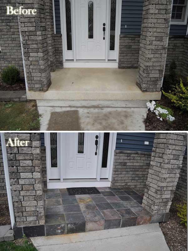 6. A bejárati ajtónál alakíts ki egy palacsempés részt