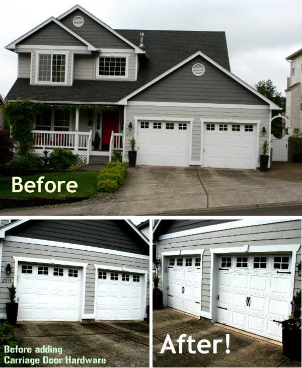 8. A garázsajtóba alakíts ki bejárati ajtót
