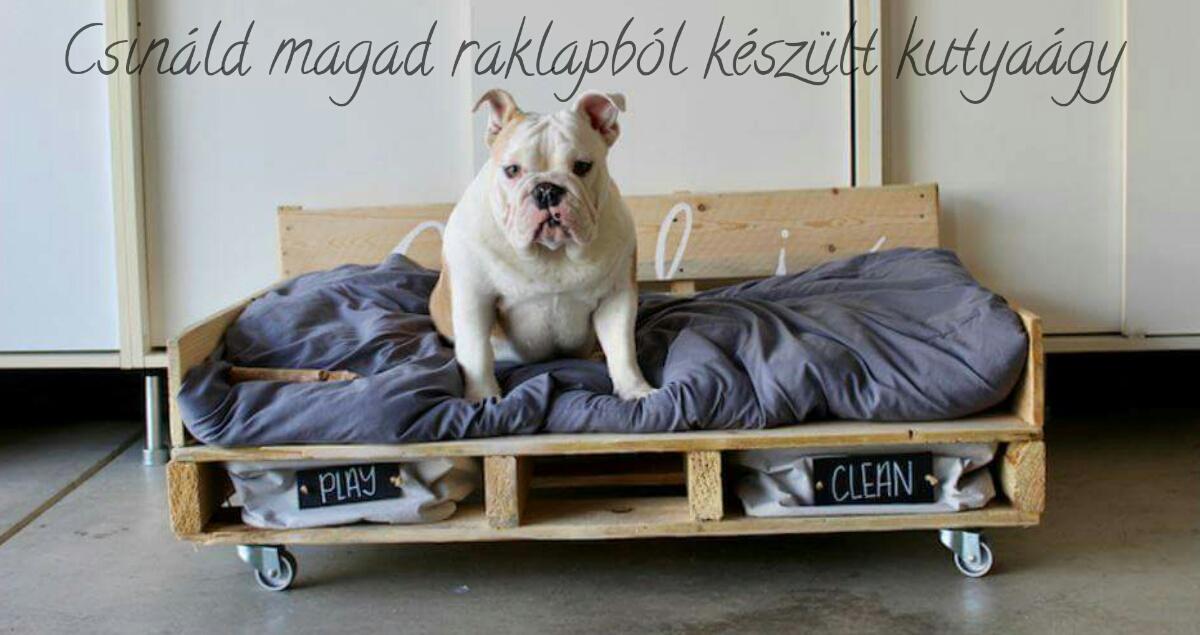 Csináld magad raklapból készült kutyaágy (2)