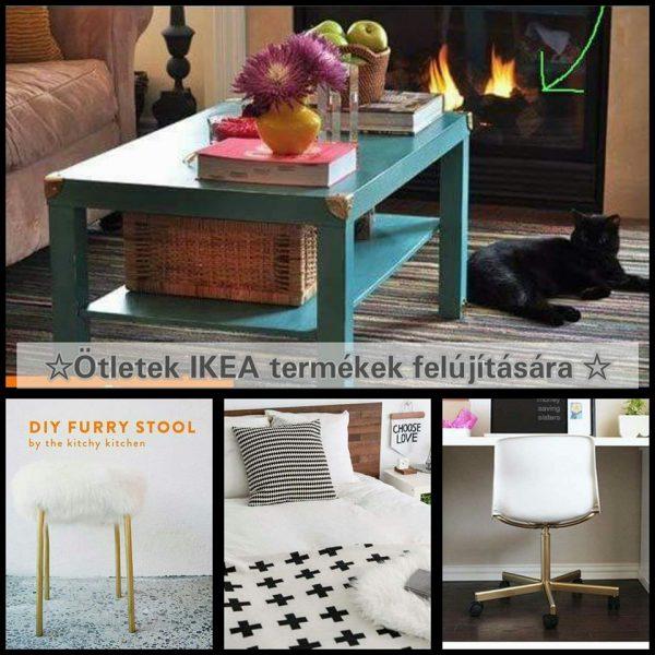 Pénztárca kímélő ötletek egyszerű IKEA termékek felújítására