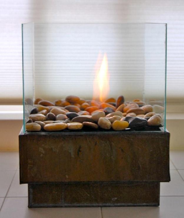 6. Akvárium - tűzrakás