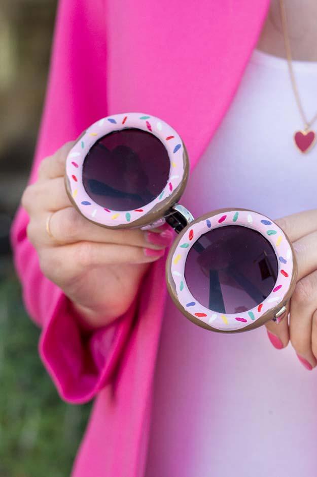 6. DIY Donut szemüvegkeret