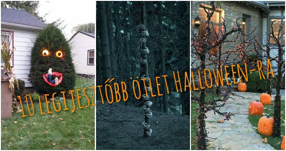 10 legijesztőbb ötlet Halloween-ra, amitől a te fád lesz a legfélelmetesebb