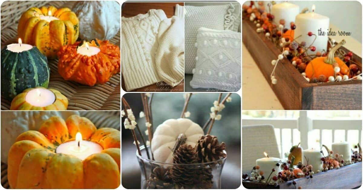 10 varázslatos őszi DIY projekt, amellyel az otthonodban köszöntheted az ősz színeit