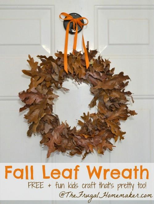 10. Őszi hangulat a bejárati ajtón