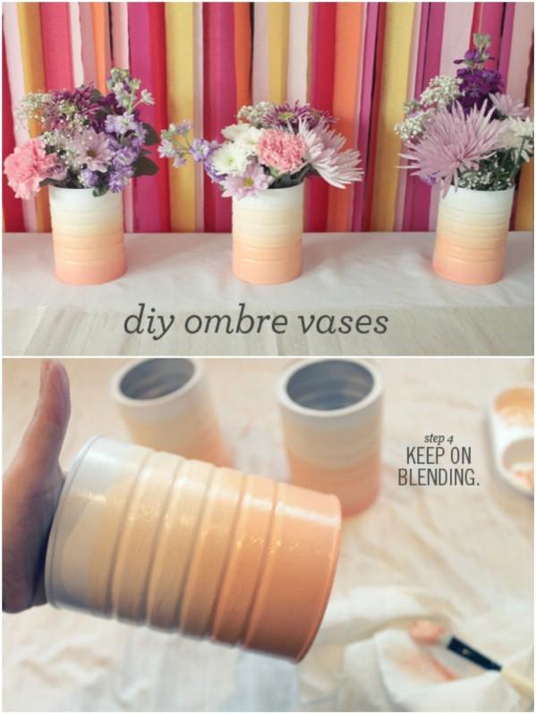 5. Ombre váza