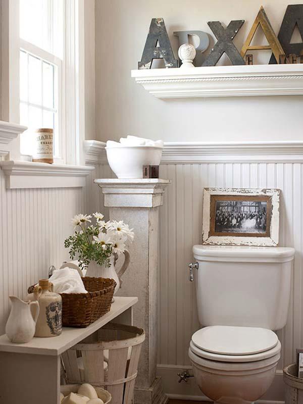 6. Hófehér bútorok, kellemes hangulat