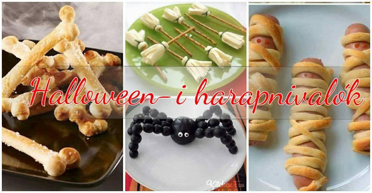 Halloween-i harapnivalók, amiknél nincs félelmetesebb