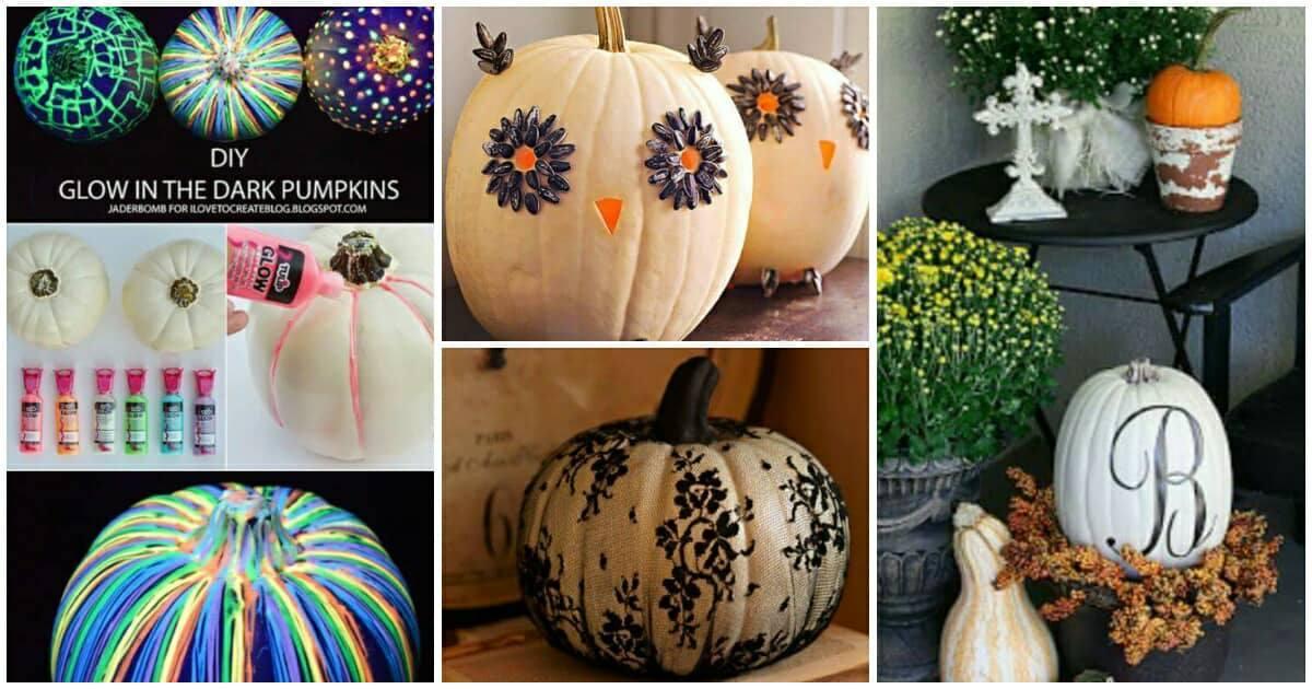 10 kreatív ötlet, hogyan készítsünk egyedi halloween tököt egyszerűen, sajátkezűleg