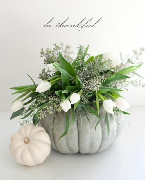 Elegáns őszi virágkompozíció
