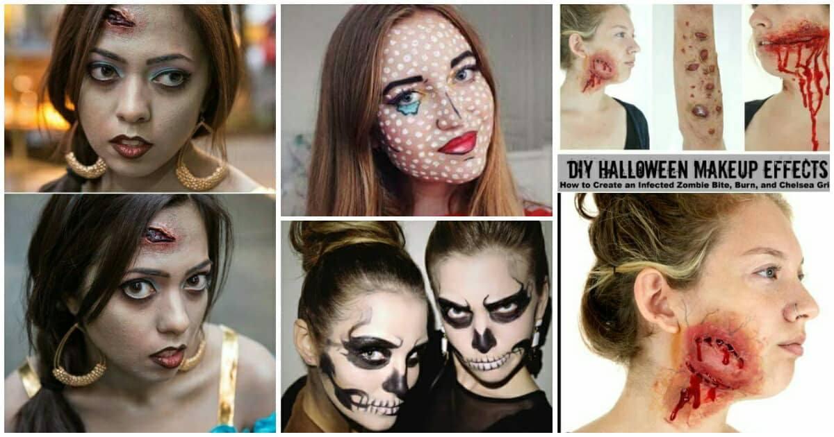 15 félelmetes smink Halloween éjszakára