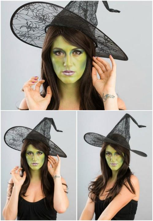 4. Boszorkány smink