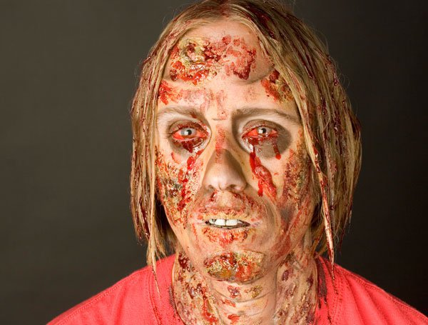 5. Gory Ghoul smink