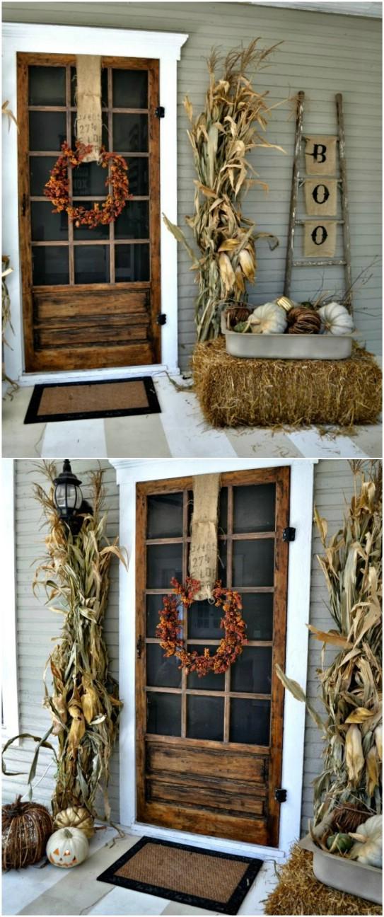 3. Rusztikus kukoricás az ajtóban