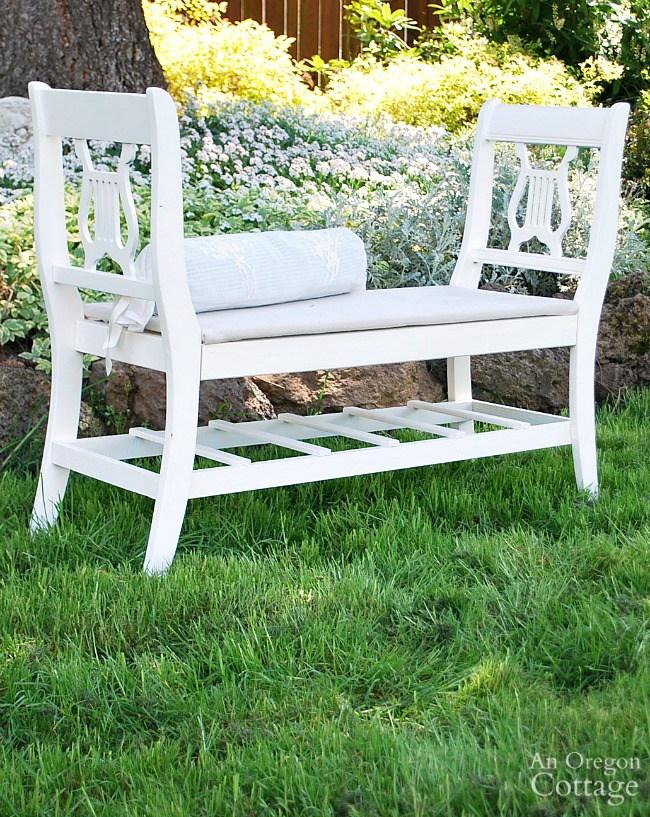 4. Francia stílusú pad régi székekből