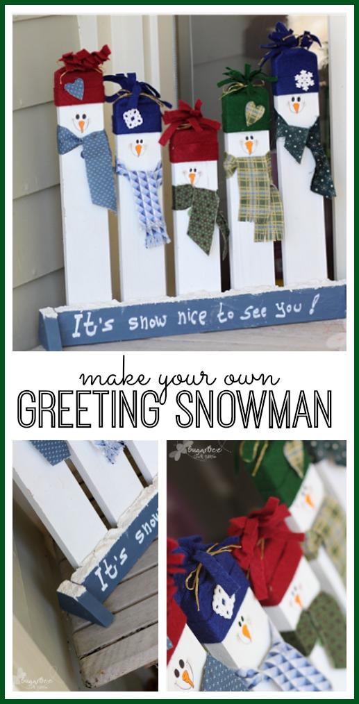1. Üdvözlő hóemberkék