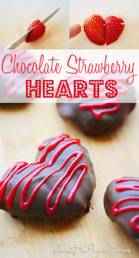 1. Csokoládés eperszívecske