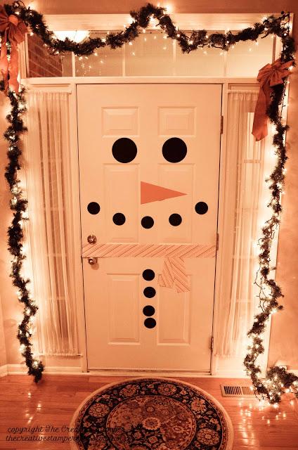 1. Hóember az ajtón