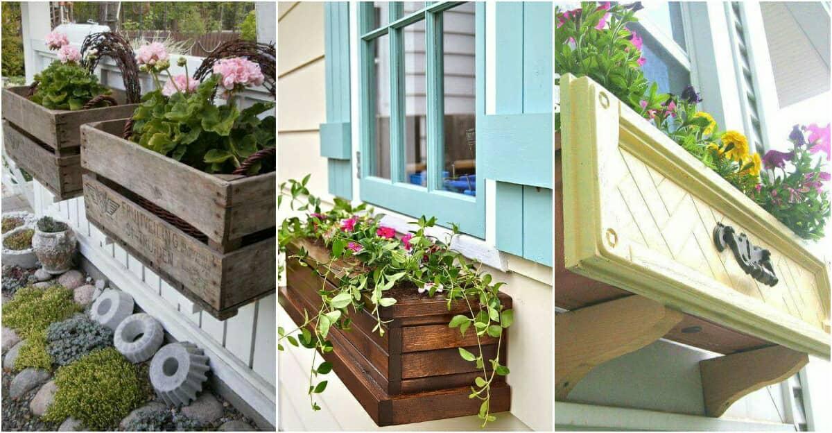10 elbűvölő ültetőláda ötlet, ami biztosan bevirágozza otthonodat
