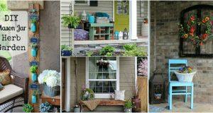 10 különleges tavaszi veranda dekorációv