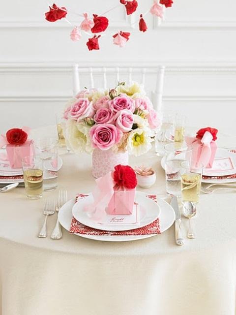 3. Imádnivaló pink és piros rózsák
