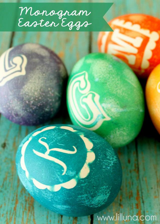 3. Monogramos tojás