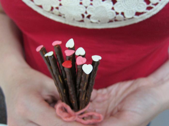 4. Csokis pálcika