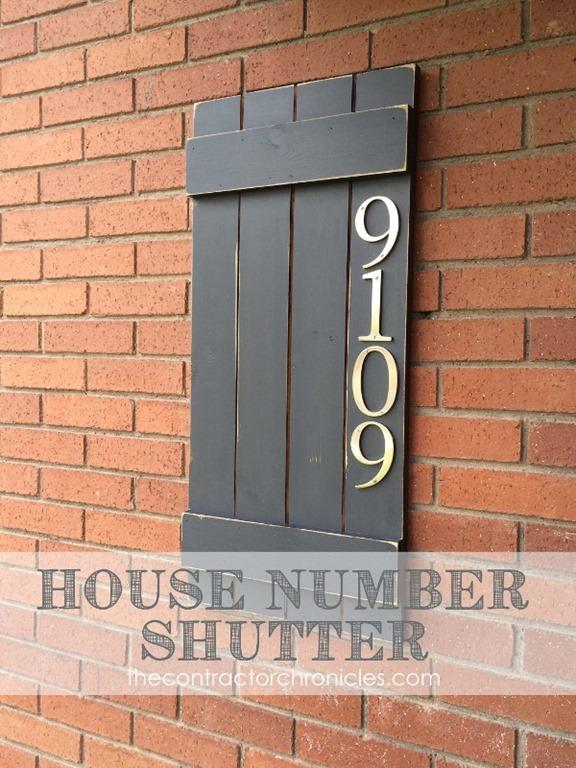 4. Házszámok a zsalun