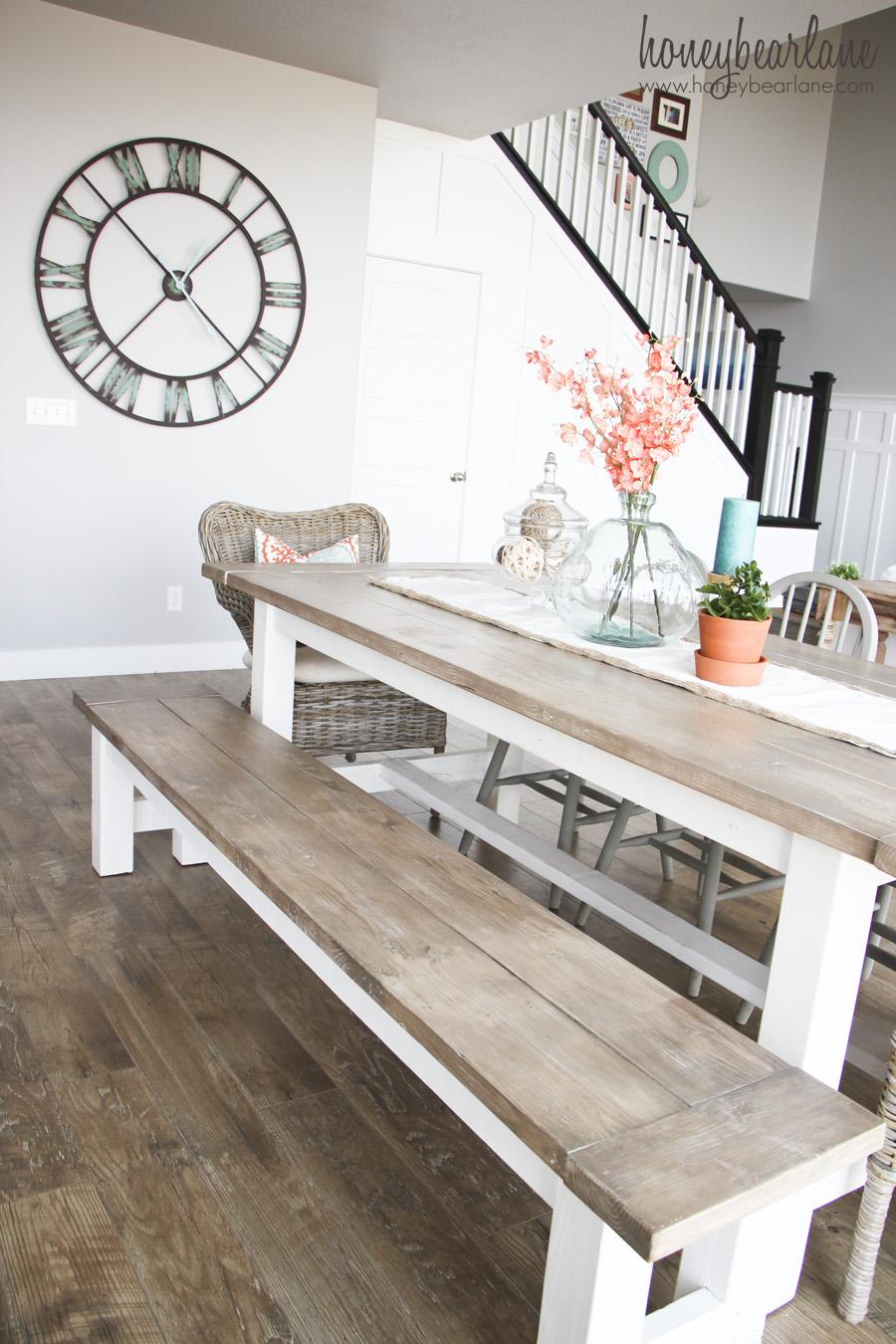 4. Imádnivaló paraszt asztal padokkal