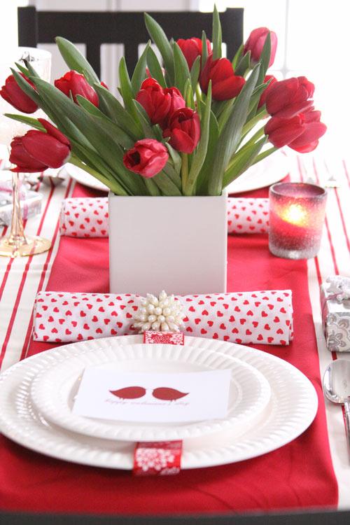 5. Piros-fehér Valentin