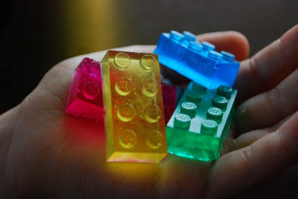 9. Lego szappan
